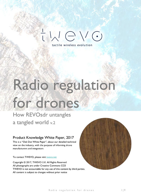 Radio regulation for drones | How REVOsdr untangles a tangled world